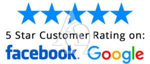 Alpha Bonding 5 Star Ratings Facebook and Google