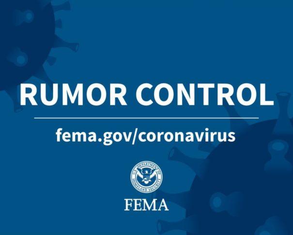 Coronavirus Rumor Control
